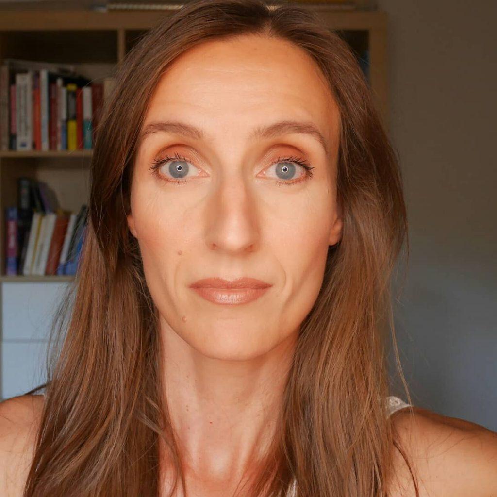 makeup bronzé et doré