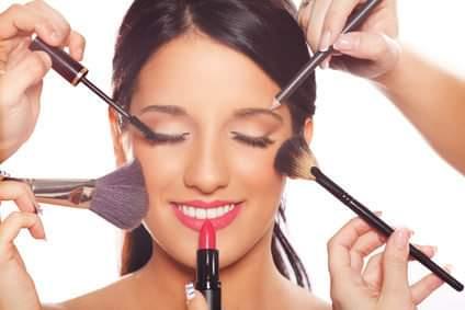 Ateliers maquillage avec le Comité d'Etablissement Michelin