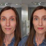 photo avant apres maquillage pour visioconférence