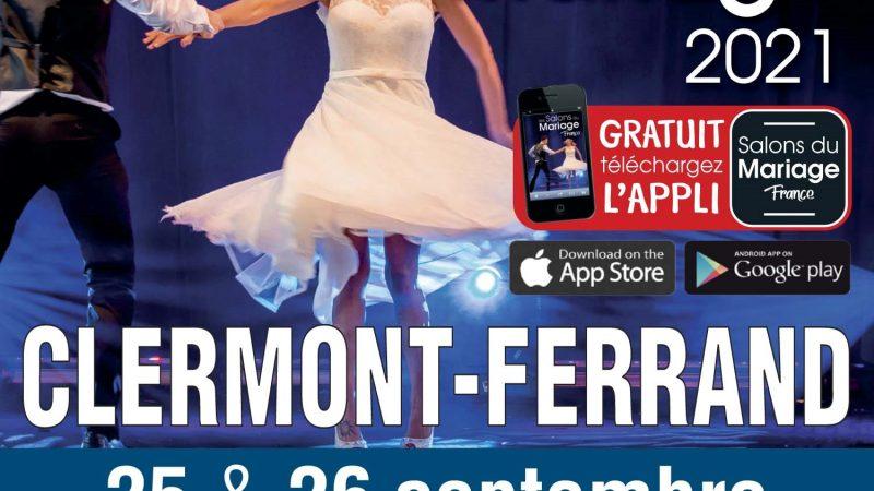 Salon du mariage 2021 Grande Halle d'Auvergne